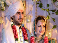 Dia Mirza-Sahil Sangha Express Child Preference On Wedding Day