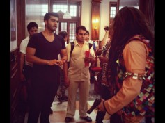 Arjun Kapoor Meets The Bank Chors