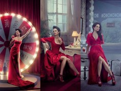 Pics: Red Hot Eva Green Gracing Campari 2015 Calendar