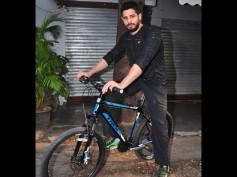 Sidharth Malhotra Cycles For Equal Street At Bandra