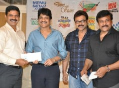 Telugu Stars To Come Under One Roof For Memu Saitham