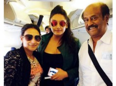 Ragini Dwivedi With Rajinikanth