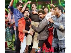 Mega Star Chiranjeevi Shakes  A Leg For 'Memu Saitham'