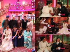 Comedy Nights With Kapil: Shahrukh Khan, Kajol Shoot DDLJ-Special Episode With Kapil! [PHOTOS]