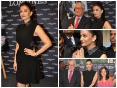 Pics: Aishwarya Rai Bachchan Looks Stunning at Longines Store Launch In Mumbai