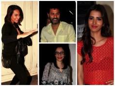 Pics: Sonakshi Sinha, Prabhu Deva Host Action Jackson Spl Screening