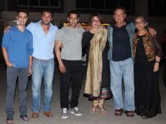 PICS: Salman Khan And Family Celebrate Salma Khan's Birthday
