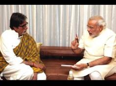 Amitabh Bachchan Meets PM Modi In Capital