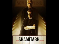 Check Out Shamitabh Audio Poster: Impressive And Innovative