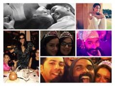Pics: 12 Bollywood Celebrities Celebrating New Year, 2015