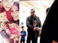 Ashton Kutcher & Mila Kunis' Daughter Wyatt Pics Leak