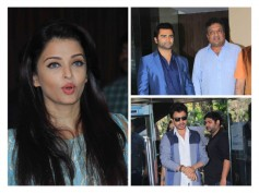 Pics: Aishwarya Rai Bachchan With Jazbaa Cast At Script Reading Session