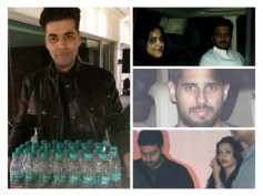 Pics: Aishwarya Rai, Bollywood Celebs At Karan Johar's House Party