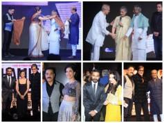 Pics: Rajinikanth, Kamal Haasan, Ilaiyaraaja, Aishwarya, Sridevi At Shamitabh Music Launch