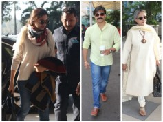 Spotted: Deepika Padukone, Bollywood Celebrities At Mumbai Airport