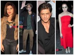 Pics: Shahrukh, Priyanka Chopra, Bollywood Celebs At Sanjay Leela Bhansali's Party