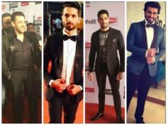 Salman Khan, Bollywood Hunks At 60th Filmfare Awards Red Carpet