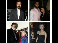 Shamitabh Special Screening Pics: Aishwarya Rai And Other Stars Enjoy