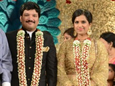 Tollywood Stars At Rajendra Prasad's Son Wedding Reception
