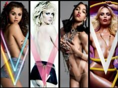 Stars Who Went Topless For V Magazine: Selena, Miley & More...