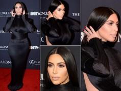Kim Kardashian Misses 2015 Vanity Fair Oscar Party, Kanye Wins BET Honors