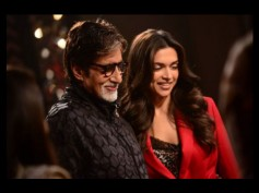 Piku Poster Shoot: Fun Time For Amitabh, Deepika And Irrfan Khan