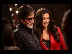 Piku Poster Shoot: Fun Time For Amitabh, Deepika And Irrfan Khan