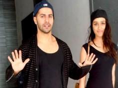 Varun Dhawan-Shraddha Kapoor Escape Fire On ABCD 2 Sets
