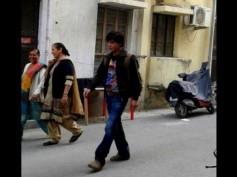 Photos: Shahrukh Khan At The Sets Of Fan In New Delhi