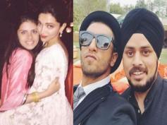 See Pics: Ranveer Singh-Deepika Padukone Enjoy At A Wedding