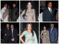 Pics: Akshay, Sunny, Sonakshi, Bollywood Celebs At Tulsi Kumar's Wedding Reception