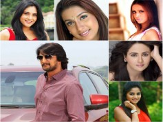 Sudeep's Ranna: Spl Song To Feature Actresses Rekha,Ramya, Rachita & Many More