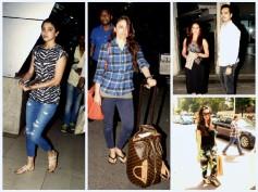 Bollywood Celebrity Spotting: Anushka Sharma, Karisma & More