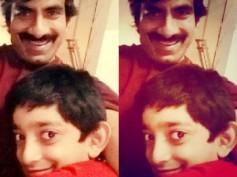 PIC TALK : Ravi Teja With His Son, Mahadhan