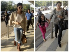 Spotted: Deepika Padukone At Airport Leaving For Jaipur