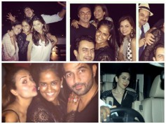 Bollywood Party Pics: Sonakshi, Arpita Khan, Farhan Party All Night