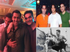 See Pics: Salman Khan Shares Rare Pics Of Family & Friends