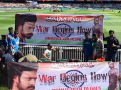 Prabhas' Baahubali Craze In India vs Bangladesh Match At MCG