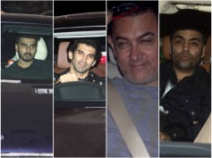 Pics: Ranbir Kapoor Throws A Party To Celebrate Bombay Velvet Trailer