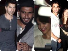 Spotted: Ranveer Singh, Deepika Padukone & Celebs At Karim Morani's Bash