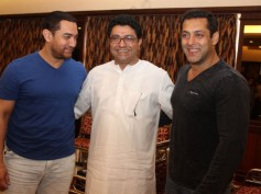 Pics: Salman, Aamir Khan Attend Raj Thackeray's Meet On Mumbai