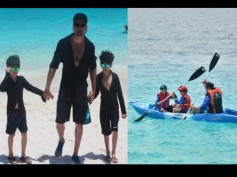 Pics: Hrithik Roshan's Adventurous Holiday With Sons At Maldives