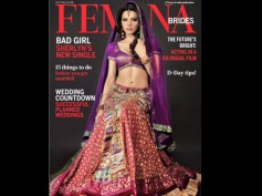 Pics: Sherlyn Chopra's Sensuous Bridal Look for Femina