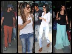 Pics: Hrithik, Sherlyn Chopra & Bollywood Celebs Spotted At Airport