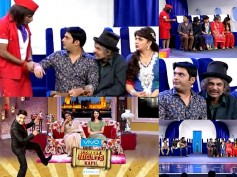 Comedy Nights With Kapil's Bittu And Family On Desi-Flight! [PHOTOS]
