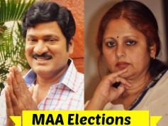 MAA Election Result Is Out - Rajendra Prasad Wins Over Jayasudha