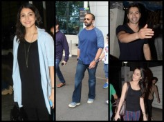 Celebrity Spotting: Varun, Shraddha, Anushka And Rohit Shetty