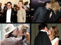 Amber Heard's Birthday: Romantic PDAs With Johnny Depp