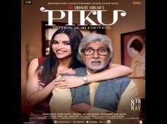 Latest Piku Poster Is Out: Adorable Deepika Padukone, Shocked Big B!