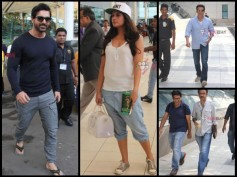 John Abraham And Celebs Spotted At Airport